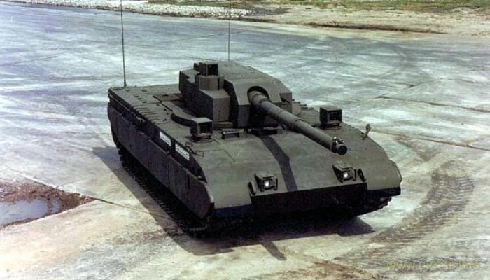 Армата Abrams Tank Test Bed