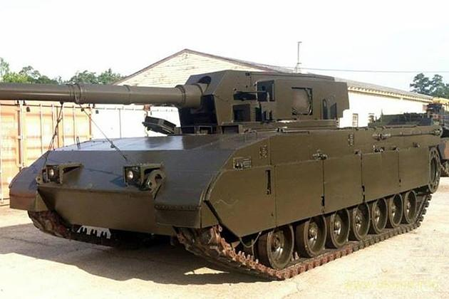 Abrams Tank Test Bed